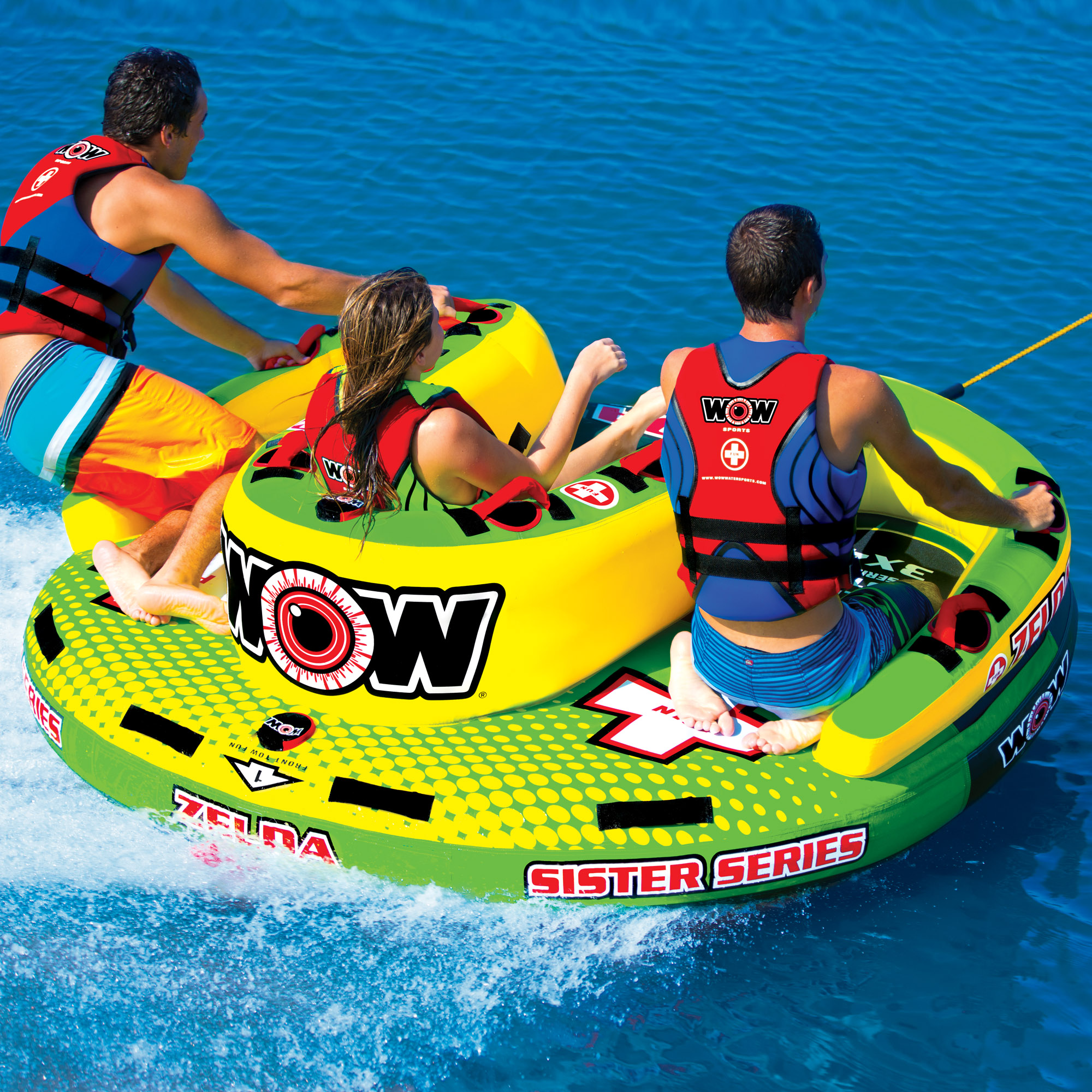 Zelda 3P Sister Towable - WOW World of Watersports