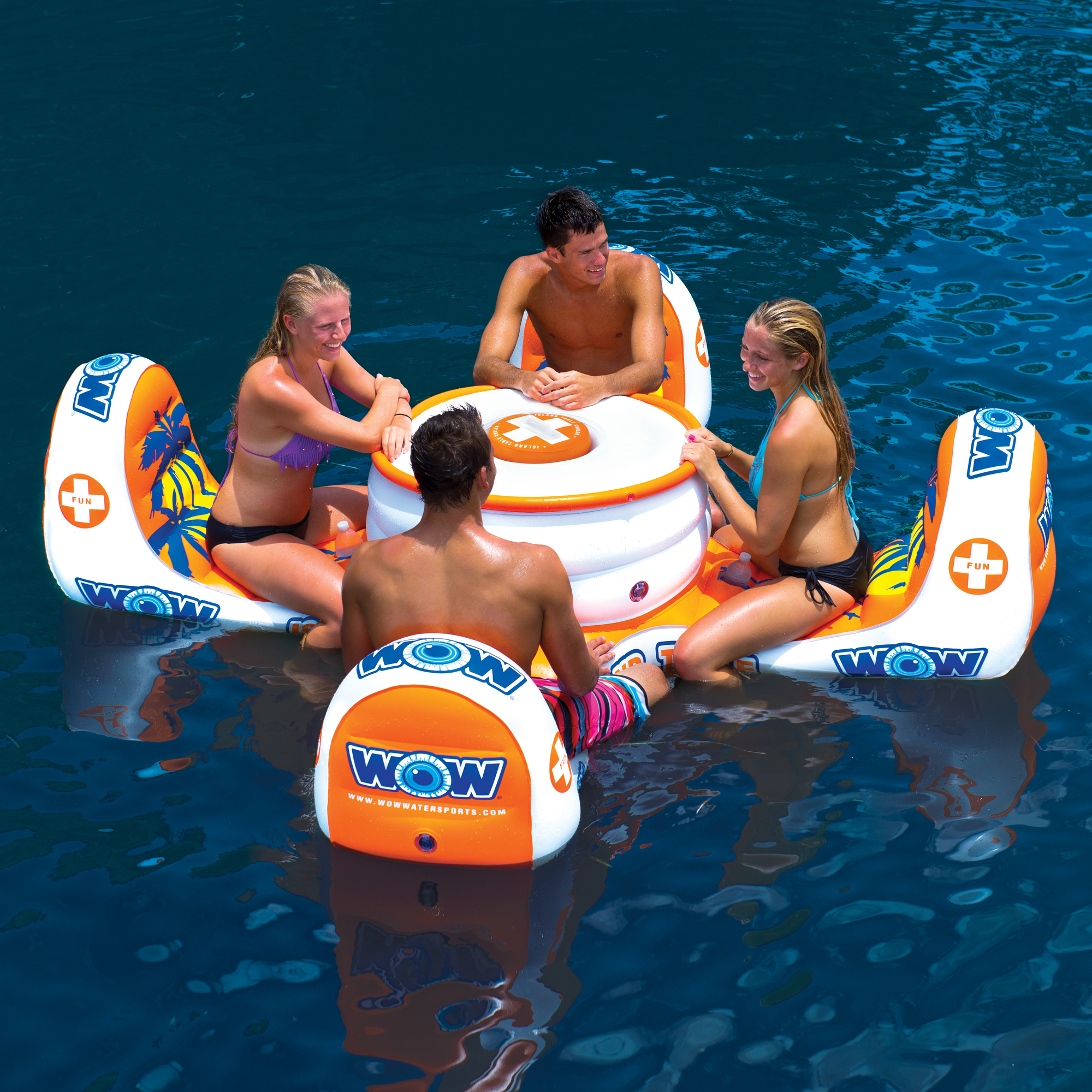 Island table wow world of watersports for Pool design handbook