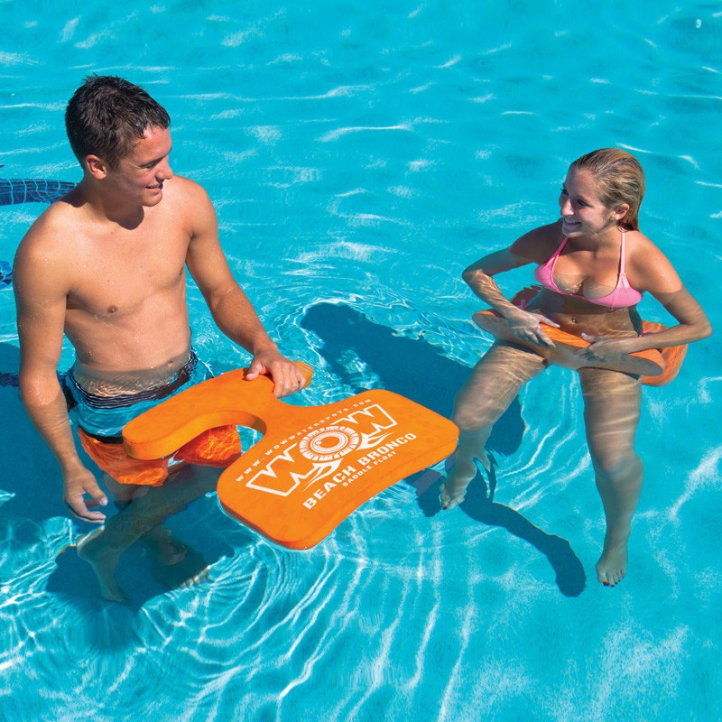 BEACH BRONCO POOL SADDLE FLOAT