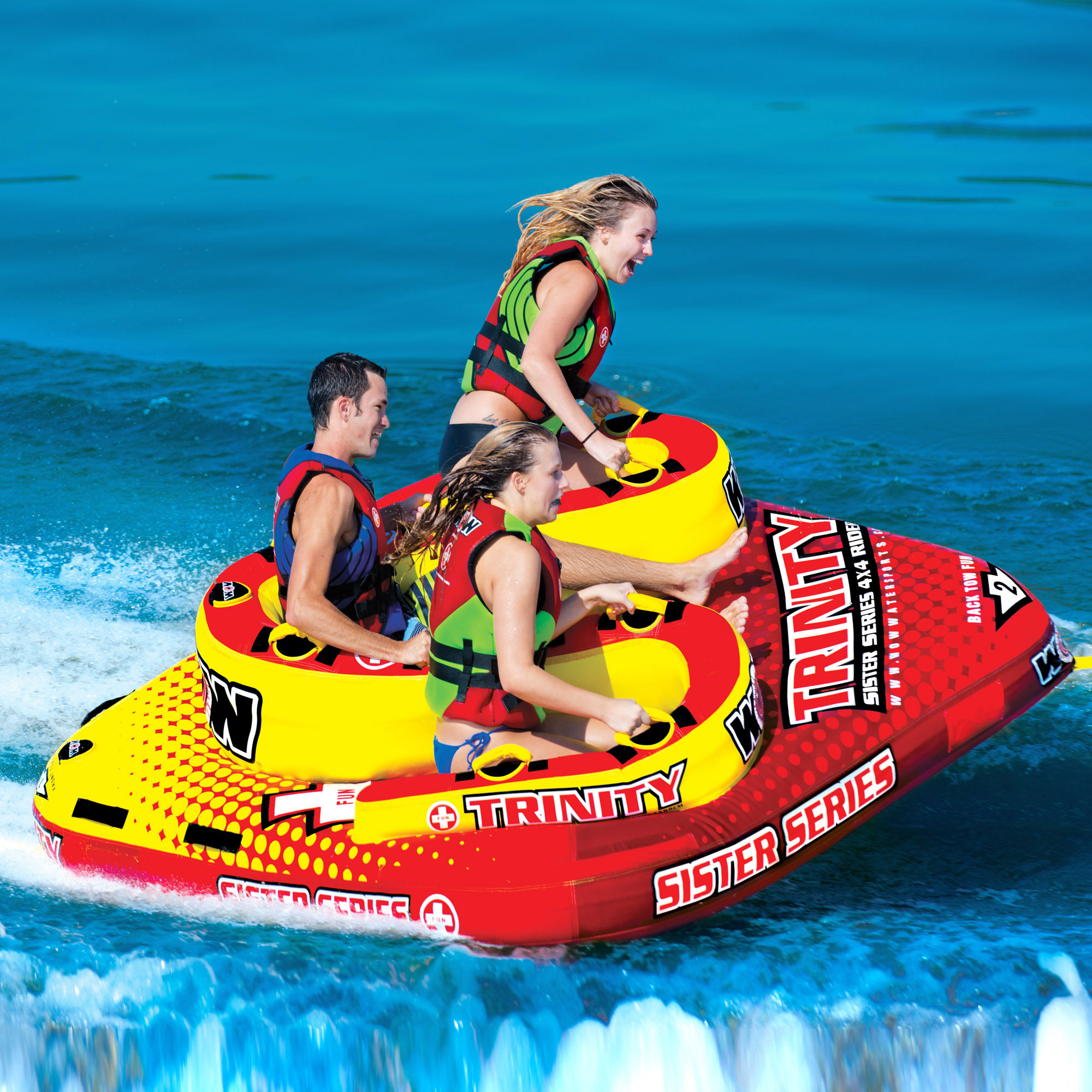 Trinity 4P Sister Towable - WOW World of Watersports