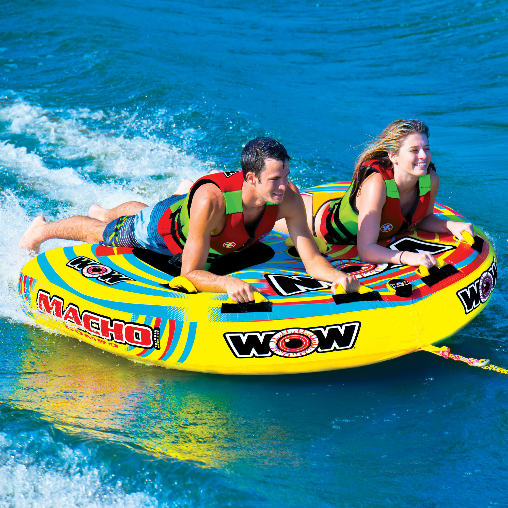 Macho Combo 2 Wow World Of Watersports Tow Harness For Towables Persons