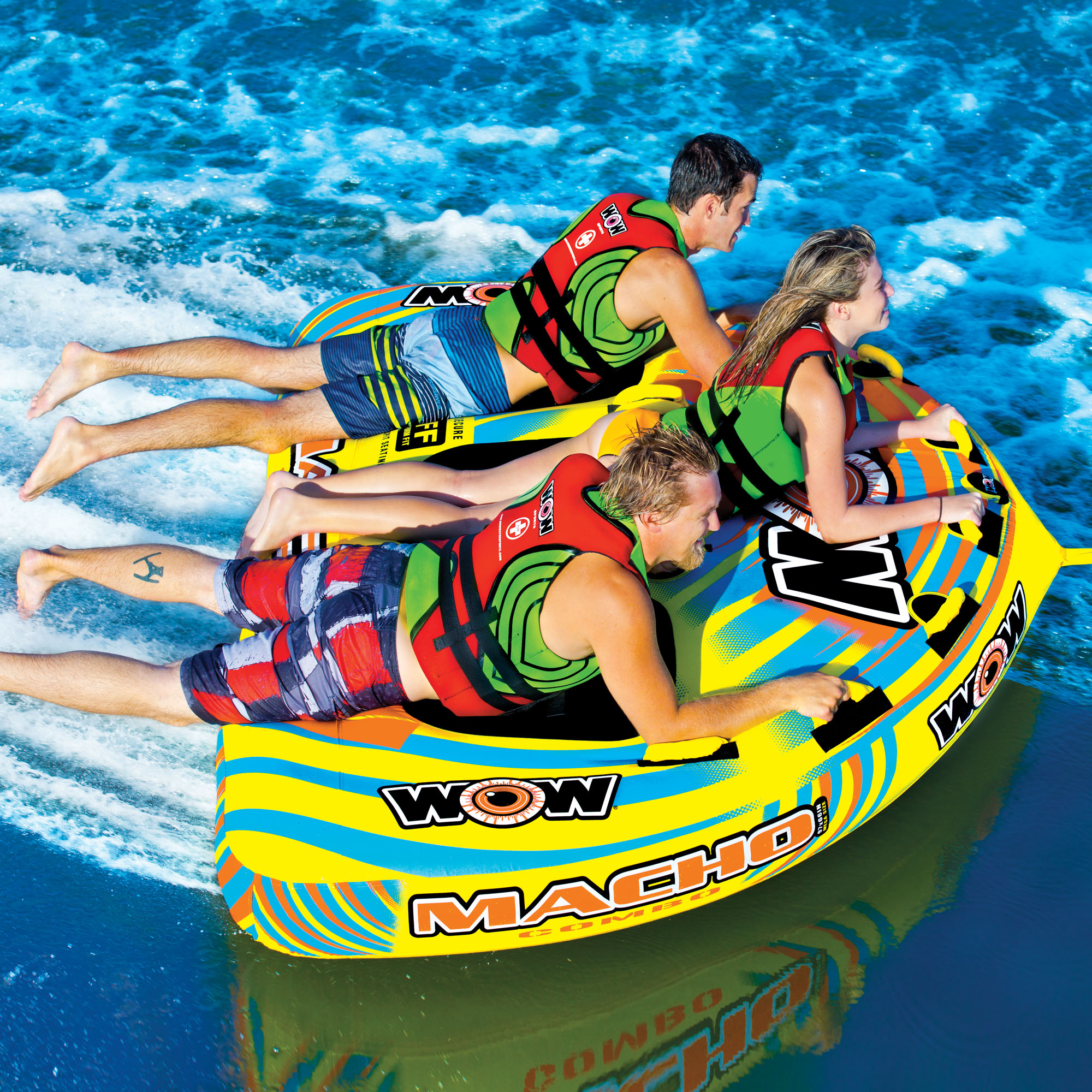 Macho Combo 3 Wow World Of Watersports Tow Harness For Towables Persons