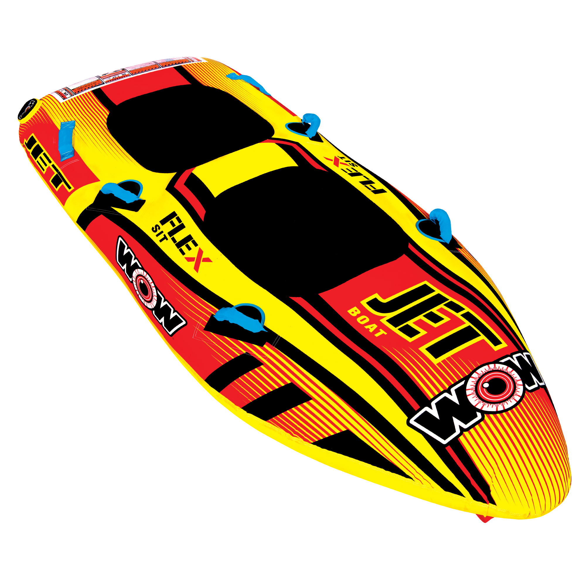 Jet Boat 2 Person Wow World Of Watersports Tow Harness For Towables Home Shop Towable Tubes